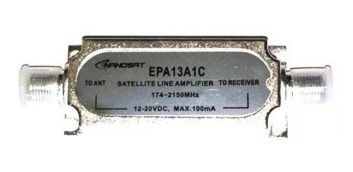 10 amplificador sinal satelite parabólica banda c e ku 20db
