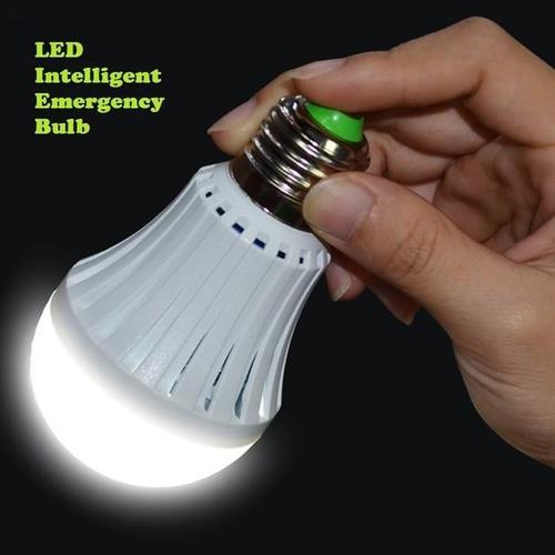 10 ampolletas led inteligente 12w ahorra energía luz al agua