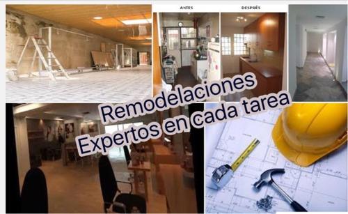 10 años de experiencia en remodelaciones, mantenimiento