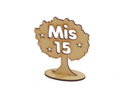 10 arboles de la vida  mis 15 souvenir centro de mesa 20cm