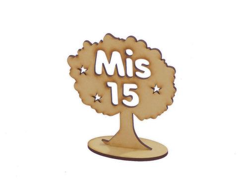 10 arboles de la vida  mis 15 souvenir centro de mesa 30cm