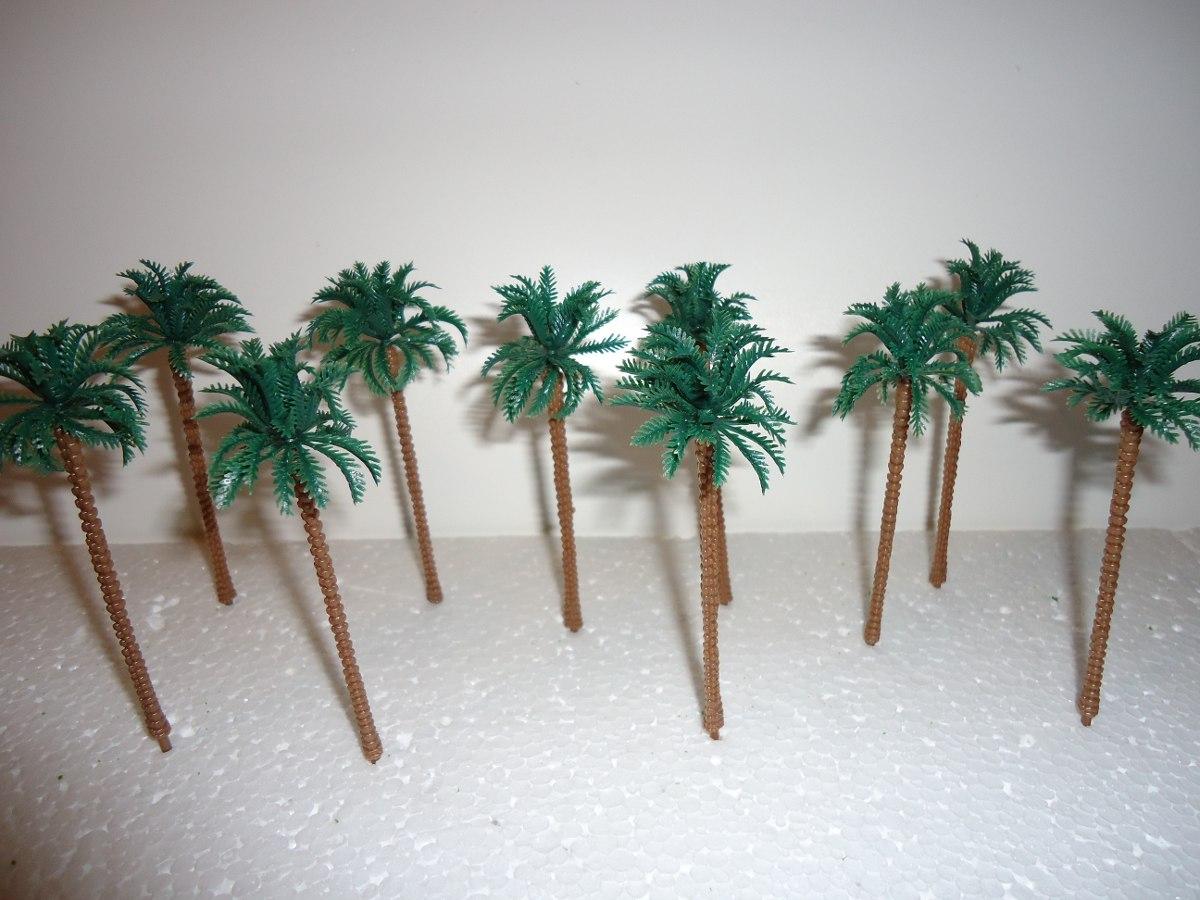 10 arboles palmeras maquetas 9cm esc ho 1 87 rabstore - Como hacer una palmera artificial ...