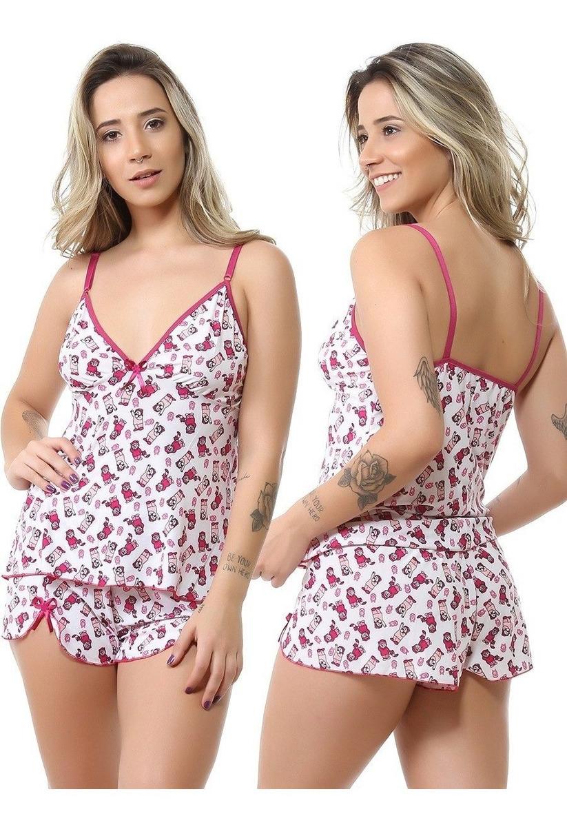 09f274e762542a 10 Baby Doll Liganete Short Doll Atacado Fábrica Pijama