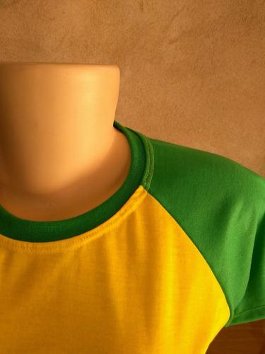 10 baby look feminina raiglan seleção copa mundo 2018