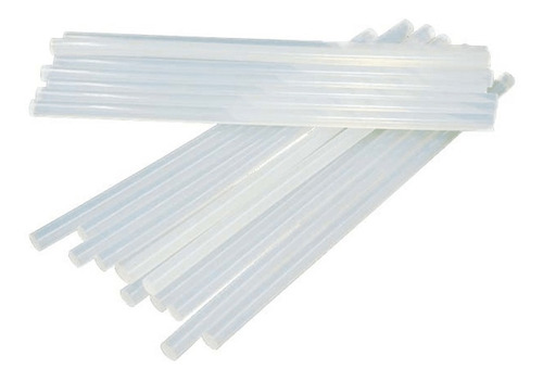 10 barras adhesiva de silicona gruesas largas para pistola