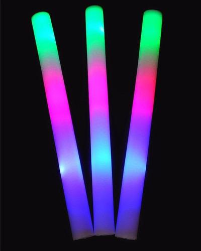 10 barras de luz led aplaudidor espuma boda fiestas eventos