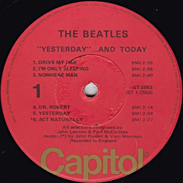 10% Beatles Yesterday & Today 76 Rock(ex-)(us)lp Import Rar+
