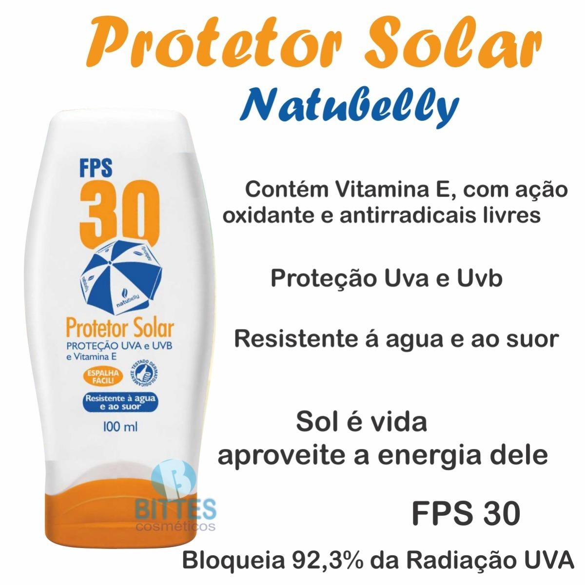 10 bloqueador solar natubelly cosméticos uva e uvb revenda. Carregando zoom. a50792160e