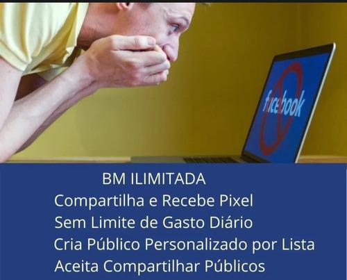 10 bm's ilimitada facebook/ sem limite de gastos