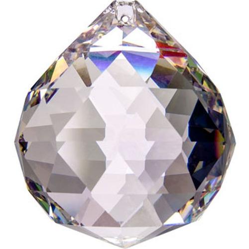 10 bola cristal asfour esfera feng shui 3,0 cm lustres