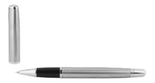 10 bolígrafos personalizados de acero inoxidable,  estuche
