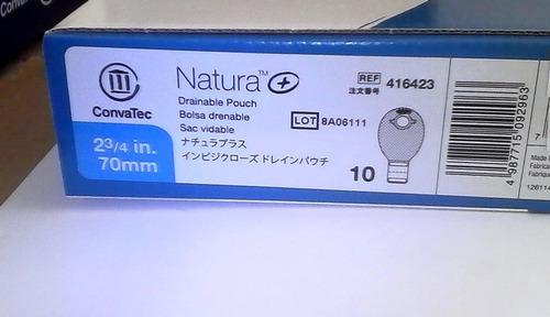 10 bolsa ostomia natura 416423 convatec  - deltamed