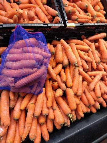 10 bolsas ecológicas reutilizables para frutas y verduras