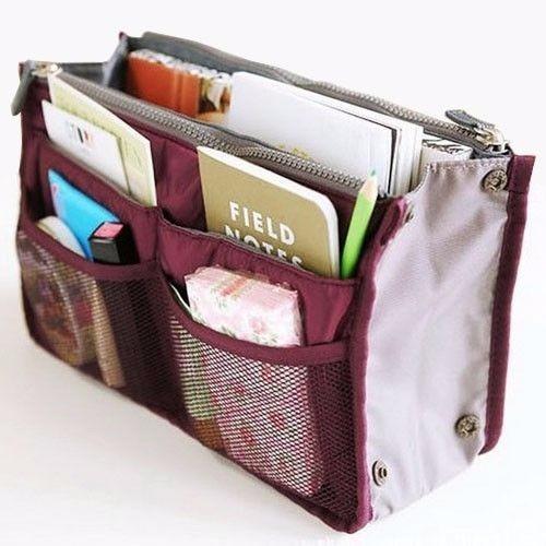 10 bolsas organizadora para bolsa de mano, viaje