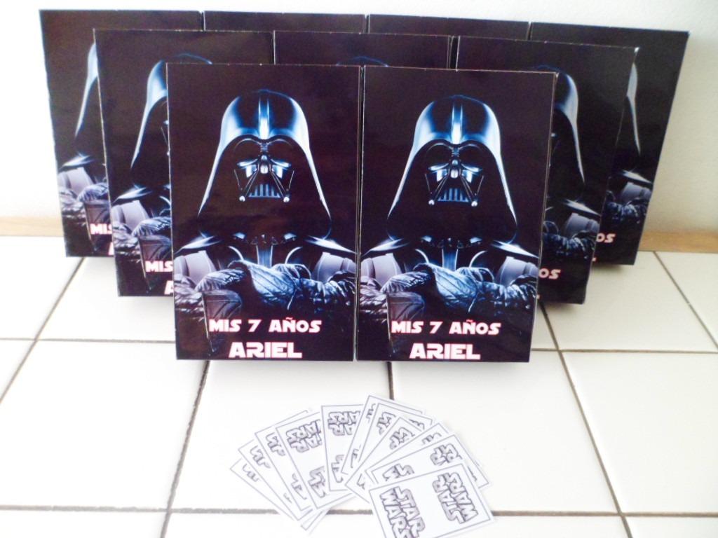 ed75fe22b 10 Bolsitas Cumple Personalizadas Star Wars Zona Sur Lomas - $ 170,00 en  Mercado Libre