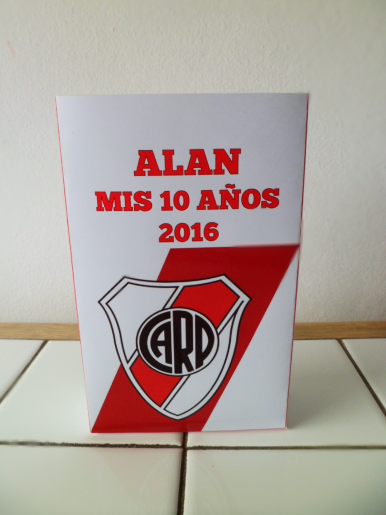 0b57a1b74 10 Bolsitas Cumpleaños Personalizadas River Plate - $ 160,00 en ...