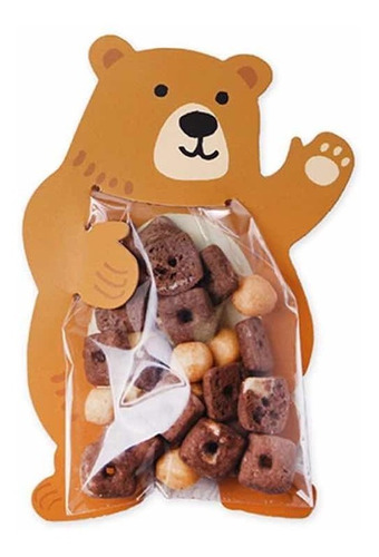 10 bolsitas dulces recordatorios fiestas infantiles