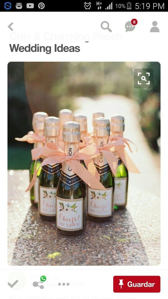 10 Botellas De Vino Espumoso Tipo Champagne Personalizada ...