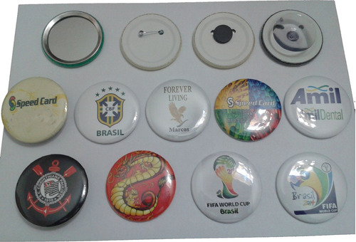 10 botons botton buttons butons broches personalizados  3,5