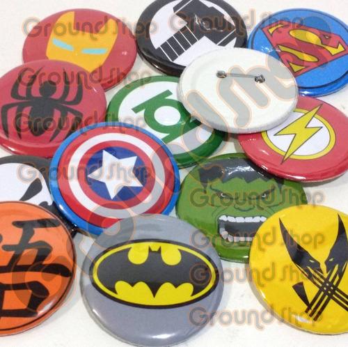10 botons personalizados 5,5cm bottons button broche botom