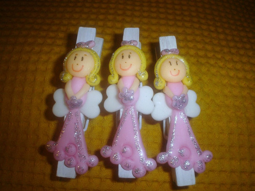 10 broche decorado porcelana fría imán ideal dia del amigo