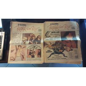 10 Cadernos O Globo Do Rock In Rio 1 De 1985 - Raridade!!!