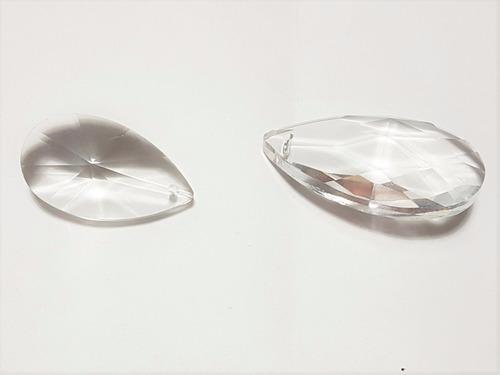 10 caireles  de cristal a eleccion deco cairel