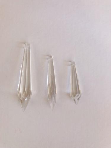 10 caireles de cristal surtidos