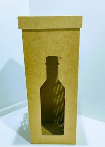 10 caixas de vinho em mdf 36x12 oferta exclusiva