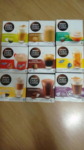 10 caixas dolce gusto com 16 capsulas
