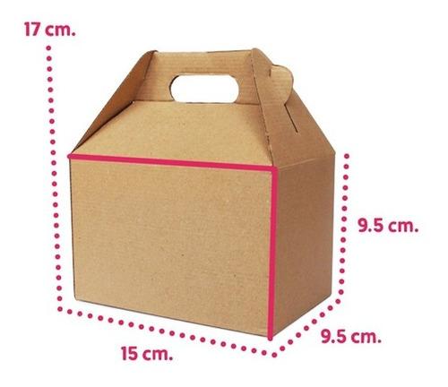 10 caja lonchera boxlunch cartonmicro dulces postres mediana
