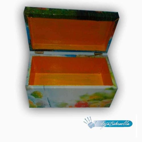 10 cajas de madera diseño especial  pascuas ideal regalo