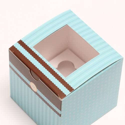 10 cajas de regalos para 1 ponquecito cupcake model chocoblu