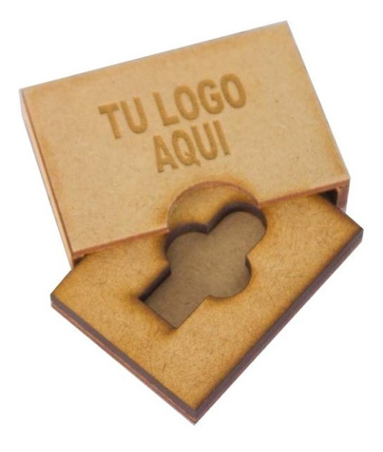 10 cajas madera personalizada usb