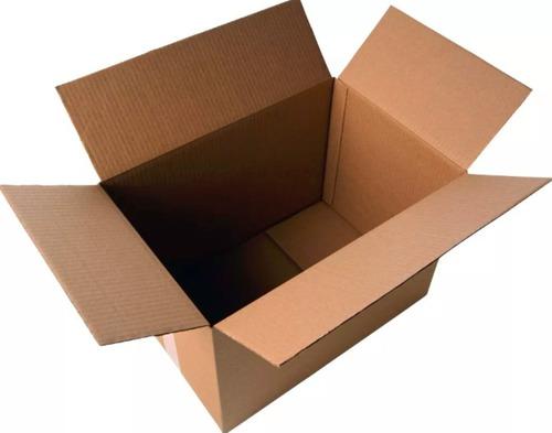 10 cajas mudanza cartón corrugado 60x40x40 nuevas.oferton