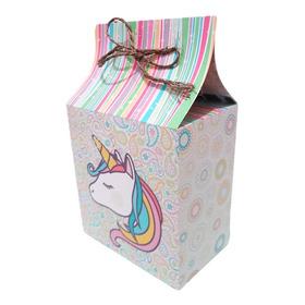 10 Cajas O Bolsas Dulceras Grandes Unicornio Personalizadas