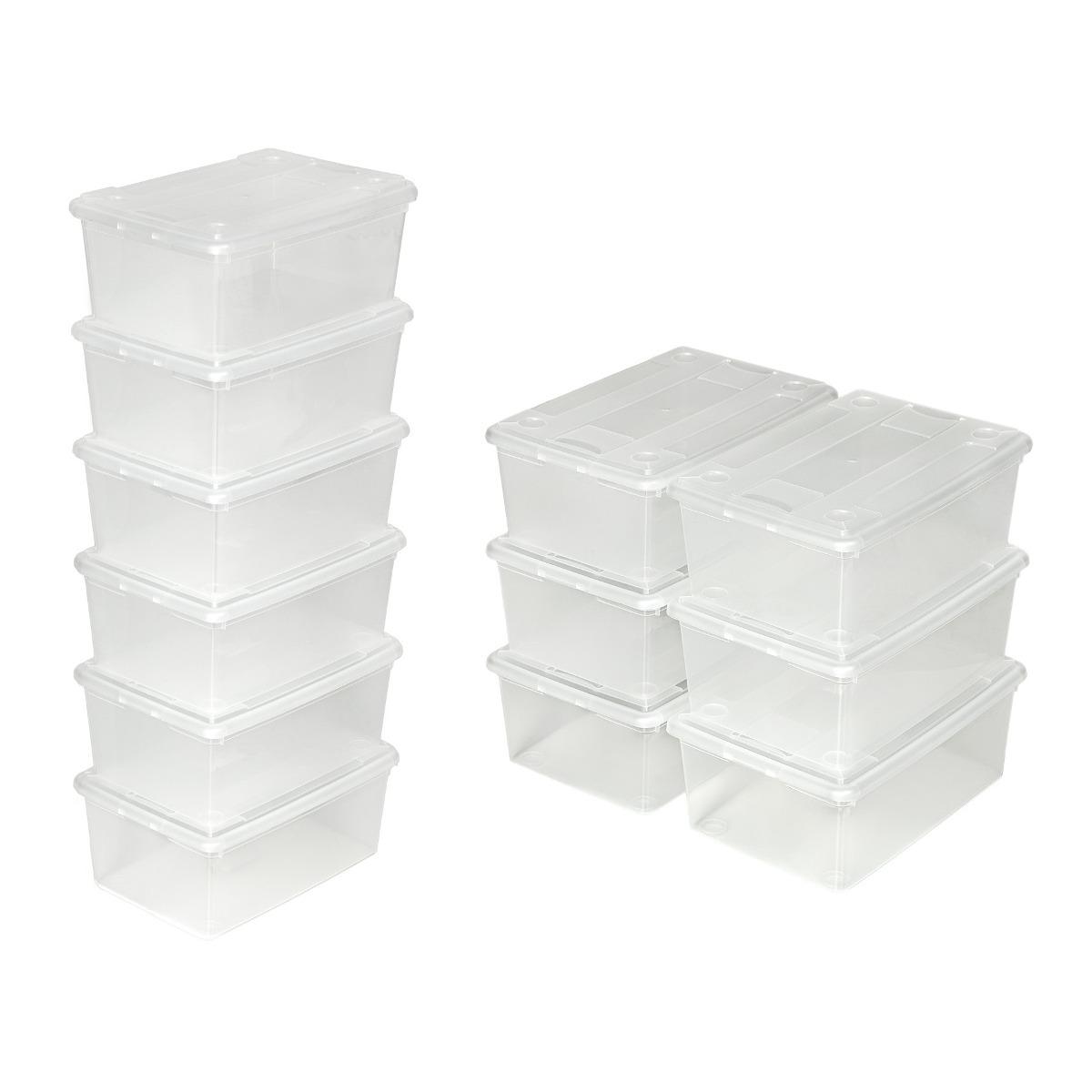 Cajas De Plastico Organizadoras Para Zapatos En Mercado Libre M Xico ~ Cajas Transparentes Para Zapatos