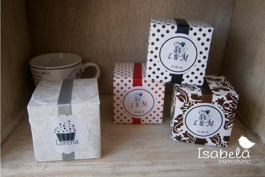 10 cajitas cubo para mesa de dulces recuerdos bodas xv for Mesa de dulces para xv anos