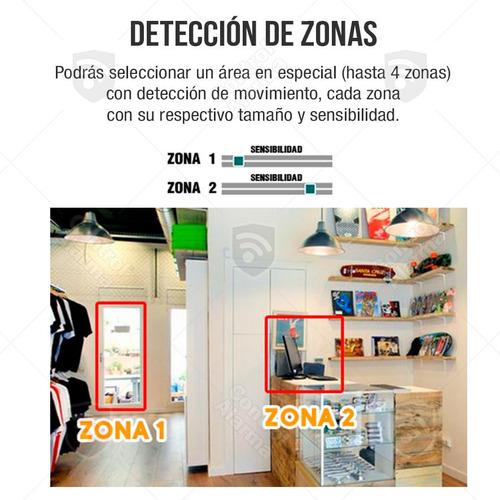 10 camaras ip video vigilancia negocio 720p wifi dvr 128 gb