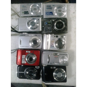 10 Câmera Digital Sony Nikon Olynpus Fujifilm Ge Com Defeito