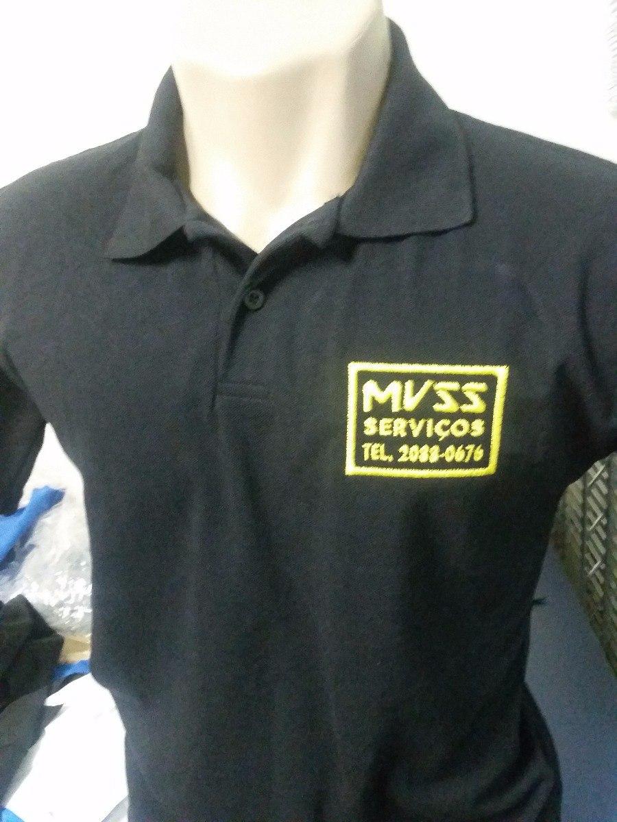 8fba0a8926 10 camisa polo uniformes bordado personalizado com logotipo. Carregando zoom .