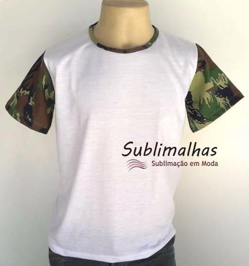 9de8644a81 10 Camisas Com Manga Camuflada Ou Cores