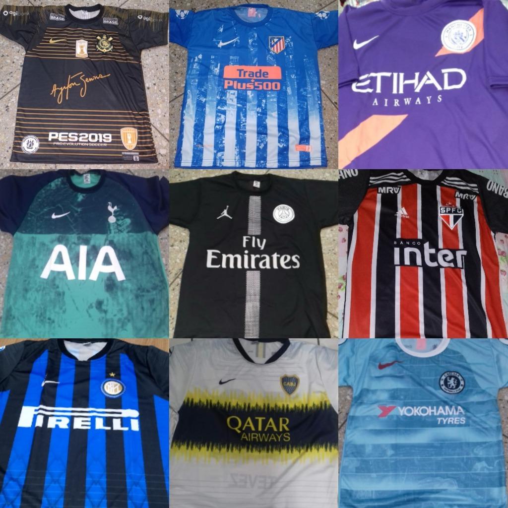 10 Camisas De Time Futebol Revenda - R  200 b6daaeed7fcdb
