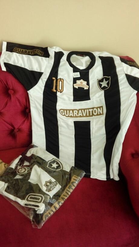 48e3e38d9f 10 Camisas Do Botafogo+brinde Chaveiro - R  100