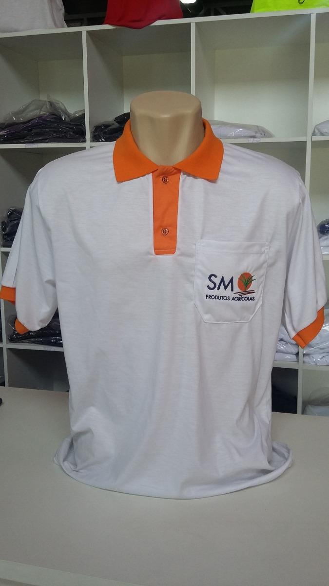 5c519fc0d 10 Camisas Pólo Bordada Uniformes - R$ 360,00 em Mercado Livre