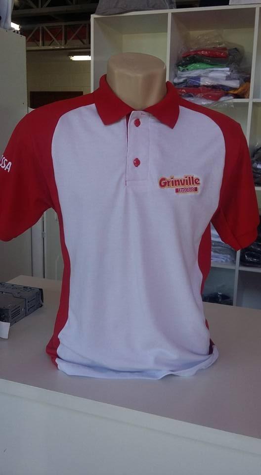9ce4587de0441 10 camisas pólo com recorte bordada uniformes. Carregando zoom.