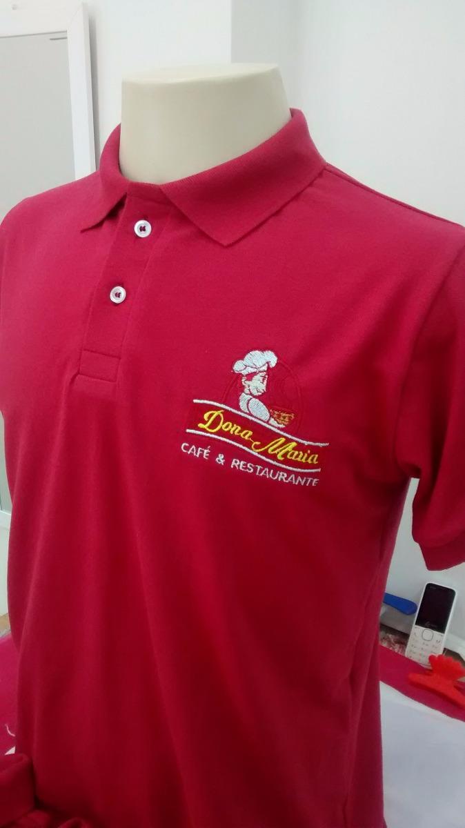 4437c4db82a0f 10 camisas polos - bordada - uniforme - sua logomarca. Carregando zoom.