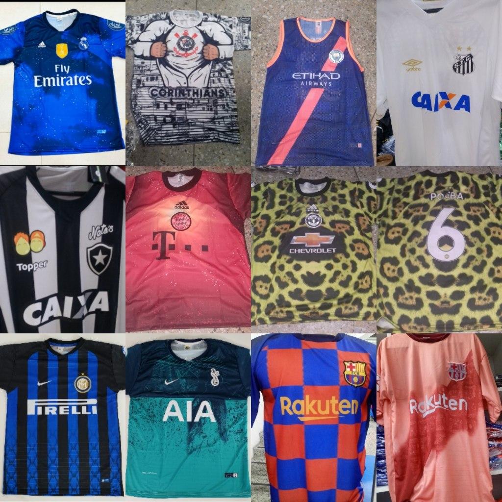 10 camisas time futebol revenda. Carregando zoom. 43e64927765df