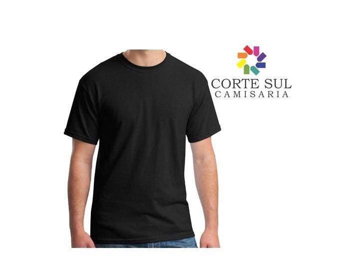 d697c99d1f 10 Camiseta Malha 100 % Algodão Fio 30 1 Com Reforço Na Gola - R ...