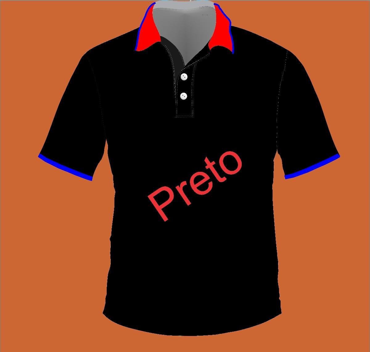 5bf67a808c 10 camiseta polo personalizada uniforme. Carregando zoom... 4